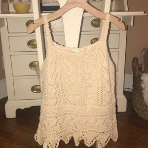 Tops - Beautiful Roxie B Crocheted Top